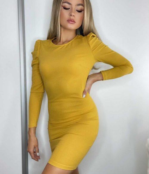 Parisian Puff Sleeve Dress