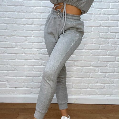 Italic Slim-Fitted Joggers