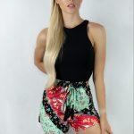 Boho Patchwork Shorts