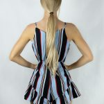 Candy Striped Playsuit