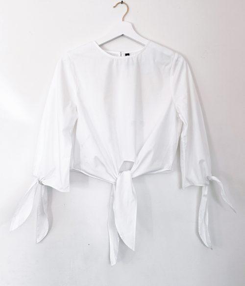 Cotton Tie Shirt