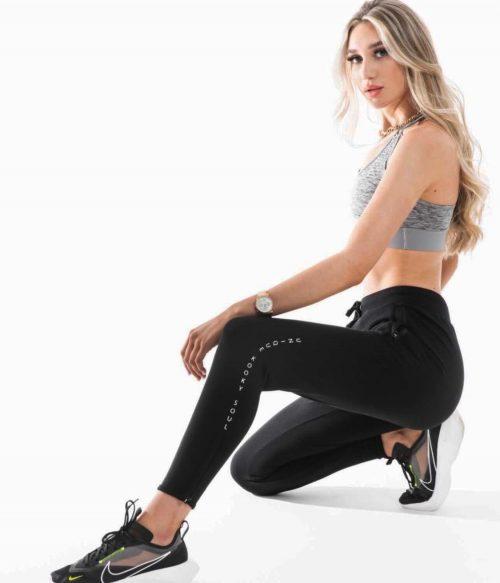 Black Cool Tapered Jog Pants