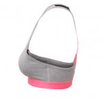 Neon Pink Medium Impact Sports Bra