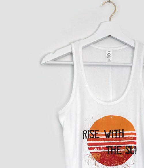 Sunrise Organic Tank Styled Vest